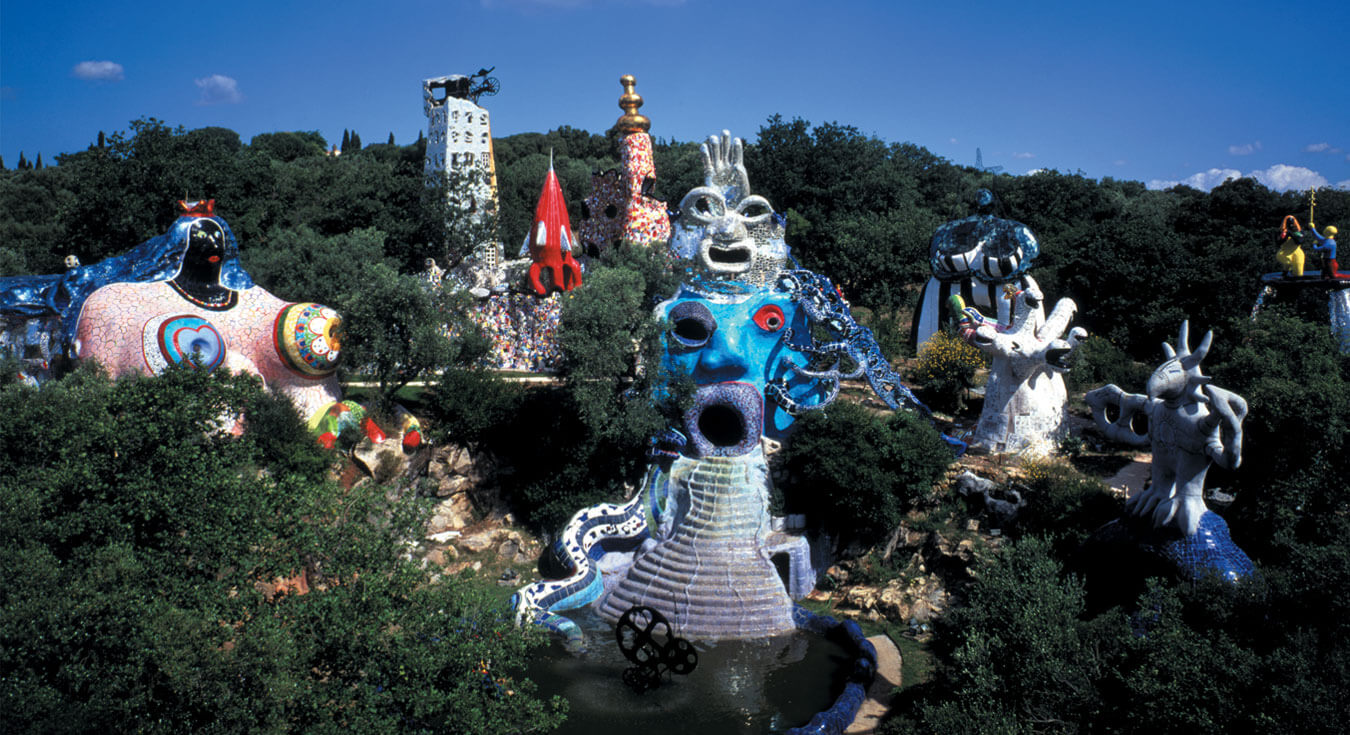 Home the tarot garden official website - Le jardin des tarots niki de saint phalle ...
